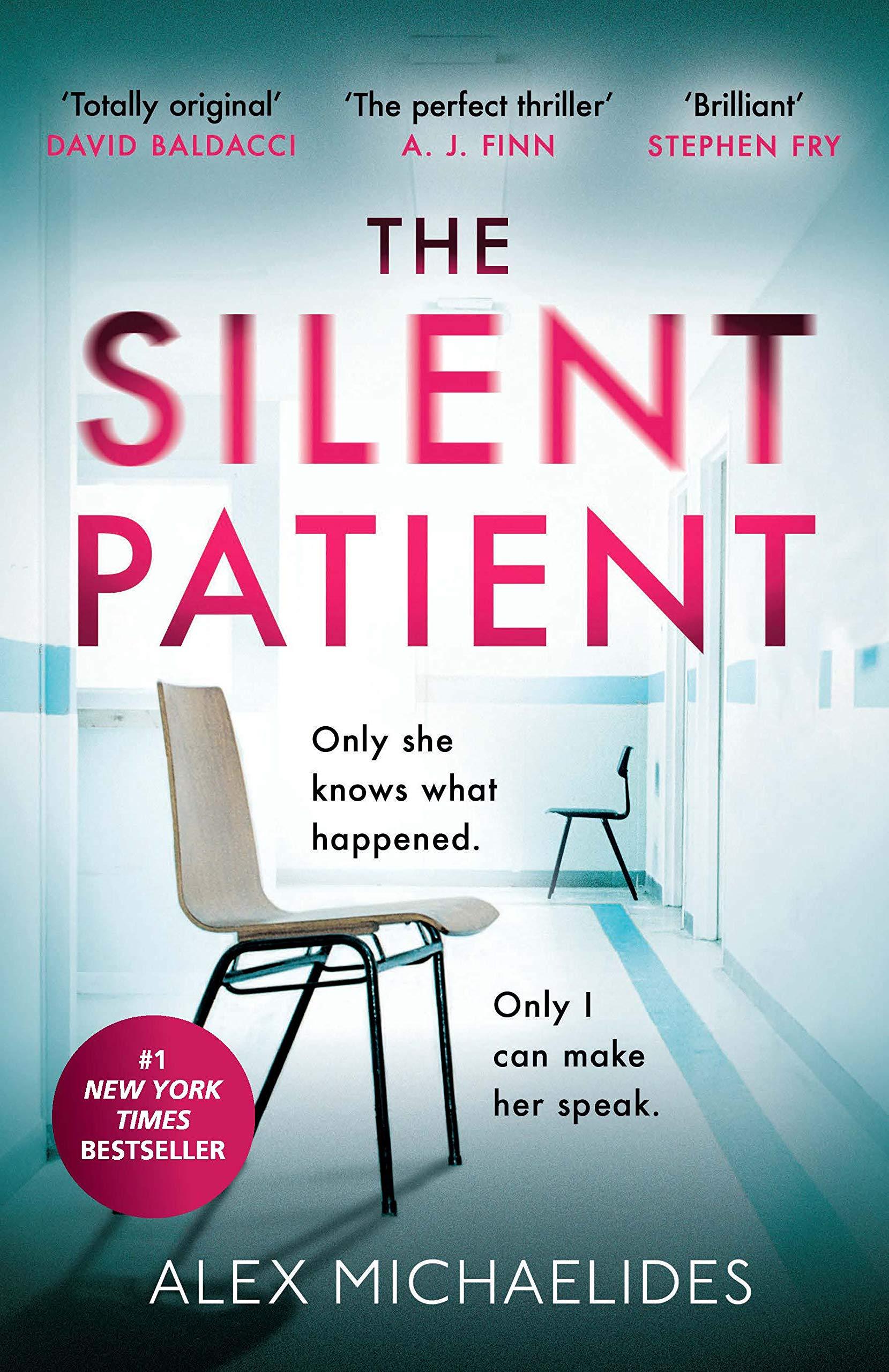 Book Review: The Silent Patient by Alex Michaelides