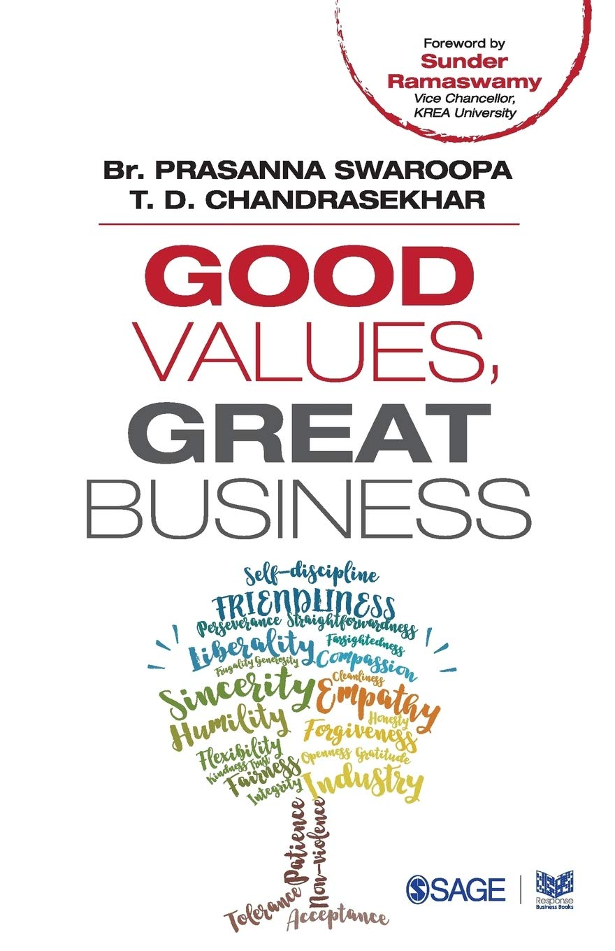Book Review - Great Values, Great Business by Prasanna Swaroopa and T Chandrasekhar