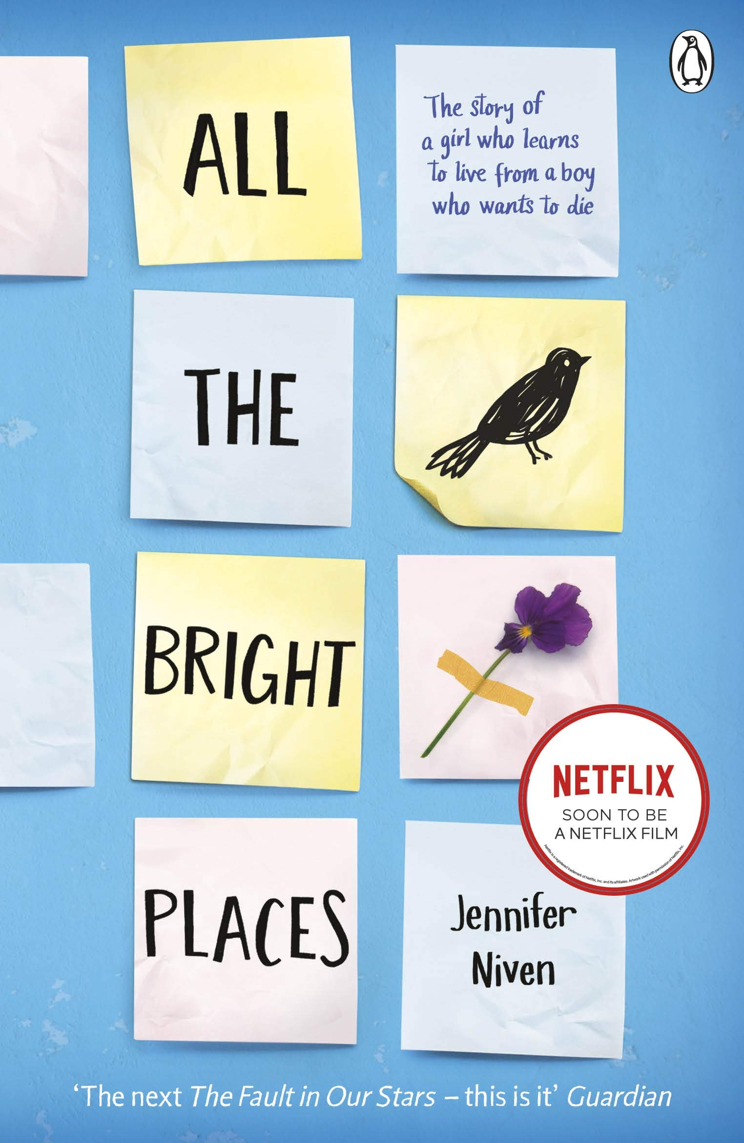 Book Review - All the bright places by Jennifer Niven