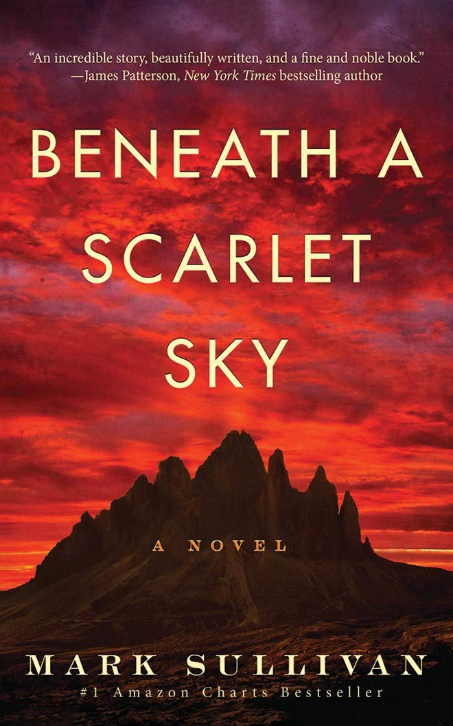 Book Review - Beneath a Scarlet Sky by Mark Sullivan