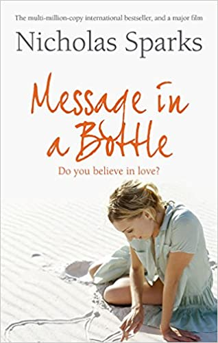 Book Review - Message in a Bottle by Nicholas Sparks