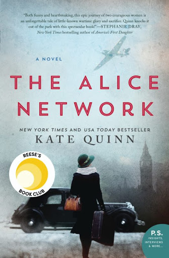 Book Review -The Alice Network by Kate Quinn
