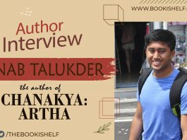 Author Interview - Arnab Talukder - the author of Chanakya Artha