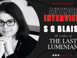 Author Interview - S G Blaise - the author of The Last Lumenian