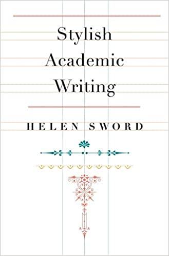 Stylish Academic by Helen Sword
